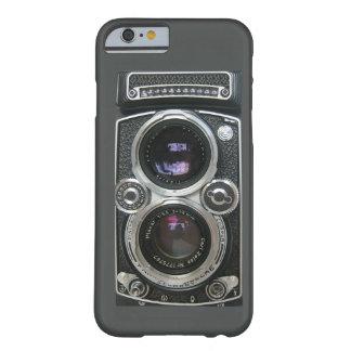 Cobrir antigo da caixa da câmera do vintage capa barely there para iPhone 6