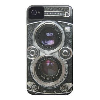 Cobrir antigo da caixa da câmera do vintage capas para iPhone 4 Case-Mate