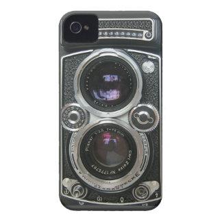 Cobrir antigo da caixa da câmera do vintage capinha iPhone 4