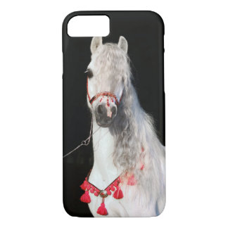 Cobrir árabe branco de IPhone do cavalo Capa iPhone 7