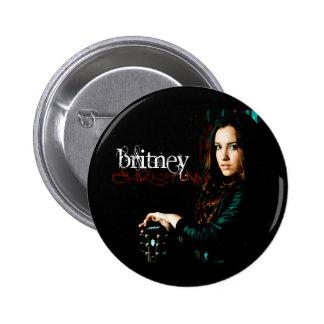 Cobrir CD cristão de Britney Bóton Redondo 5.08cm