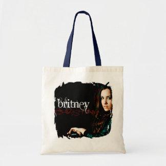 Cobrir CD cristão de Britney Sacola Tote Budget