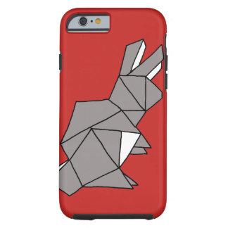 Cobrir cinzento da capa de telefone do coelho