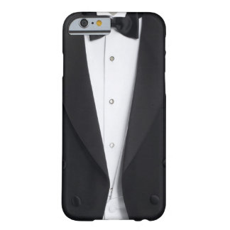 Cobrir da caixa do smoking dos homens capa barely there para iPhone 6