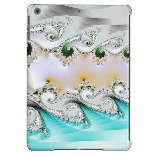 Cobrir de ar do iPad dos redemoinhos do fractal de Capa Para iPad Air