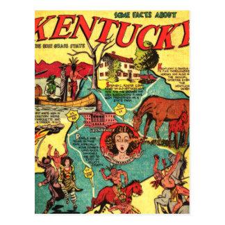 Cobrir de banda desenhada de Kentucky Cartões Postais