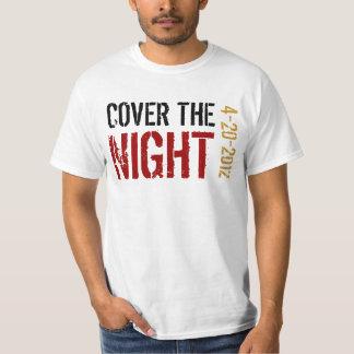 Cobrir de Kony a noite Camiseta