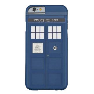Cobrir do caso do iPhone 6 da caixa de telefonema Capa Barely There Para iPhone 6