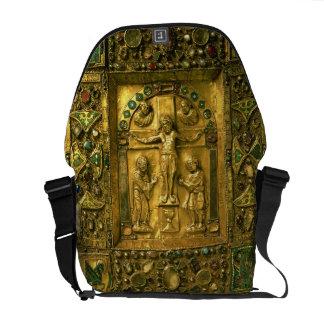Cobrir do evangelho, Ottonian, Alemanha, século XI Bolsa Mensageiro