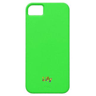 Cobrir do iPhone 5 do lírio Capas Para iPhone 5