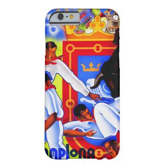Cobrir do iphone de Pamplona do vintage Capa Barely There Para iPhone 6