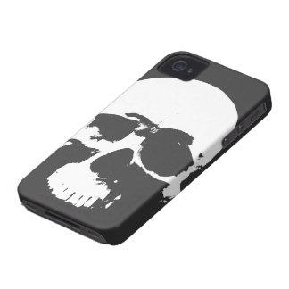 Cobrir do iPhone do crânio da morte de Punk'd Capa Para iPhone 4 Case-Mate