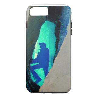 Cobrir do ipone da caverna de gelo capa iPhone 7 plus