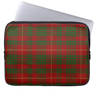 Cobrir do laptop da xadrez de Tartan de Cameron do Bolsa E Capa De Notebook