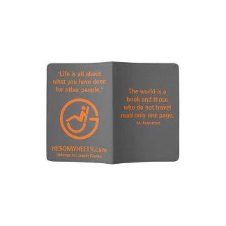 Cobrir do passaporte de HESONWHEELS Capa Para Passaporte