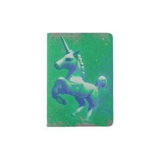 Cobrir do suporte do passaporte do unicórnio (que capa para passaporte