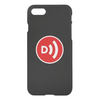 Cobrir do telefone do logotipo da entrada de ar capa iPhone 7