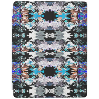 Cobrir esperto colorido do iPad das formas Capa Smart Para iPad