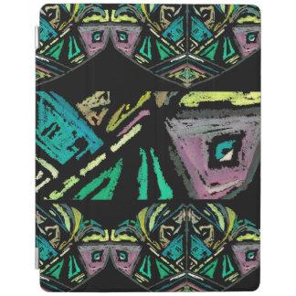 Cobrir esperto do iPad asteca da arte Capa Smart Para iPad