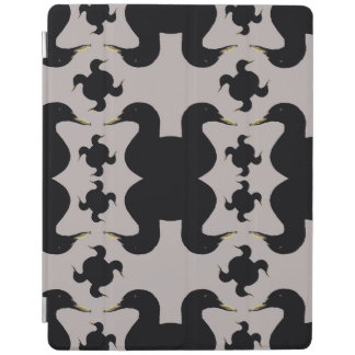 Cobrir esperto do iPad dos patos pretos Capa Smart Para iPad
