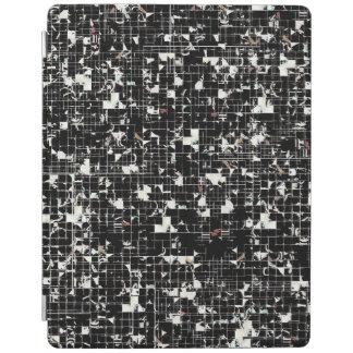 Cobrir esperto do iPad dos quadrados pretos Capa Smart Para iPad