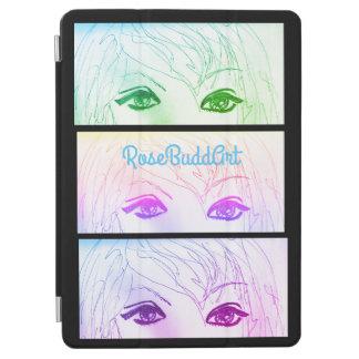 cobrir esperto do ipad, preto capa para iPad pro