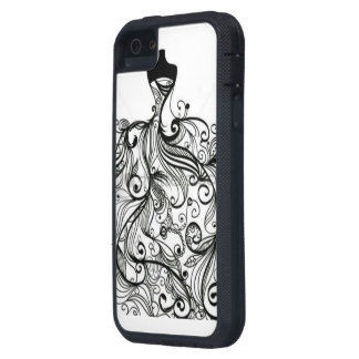 cobrir feminino capa para iPhone 5