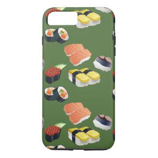 cobrir japonês do telefone do verde da comida do capa iPhone 7 plus