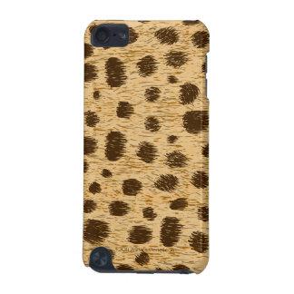 Cobrir ou pele animal do caso do impressão do capa para iPod touch 5G