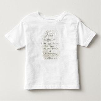 Cobrir para a contagem 'de Offrande um la Liberte Camisetas
