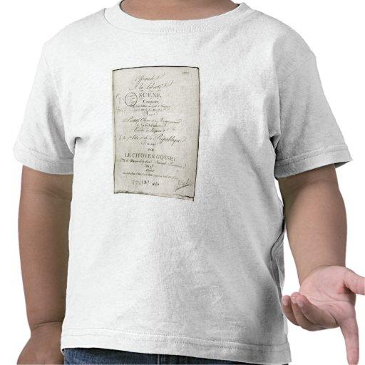 Cobrir para a contagem 'de Offrande um la Liberte Tshirt