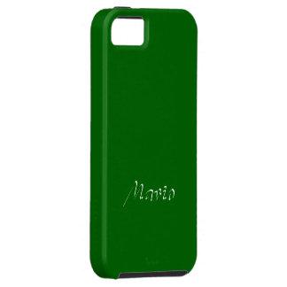 Cobrir verde contínuo do iPhone de Mario Capa Tough Para iPhone 5