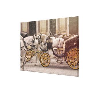 COCHE DE CABALLOS impressão de 24 x 16 canvas