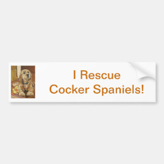 Cocker spaniel amarelo adesivos