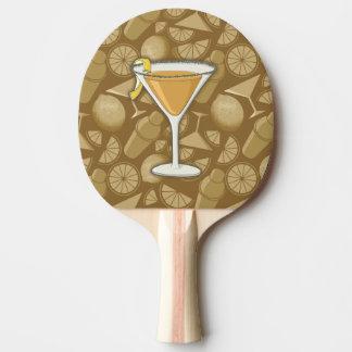 Cocktail do side-car raquete de ping pong