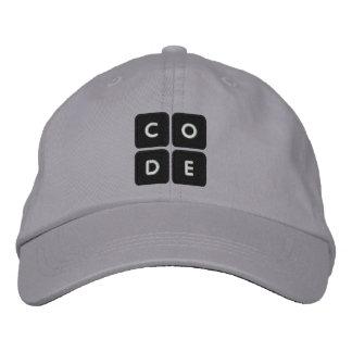 Code.org bordou o chapéu boné bordado