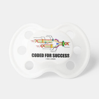 Codificado para o sucesso (réplica do ADN) Chupeta