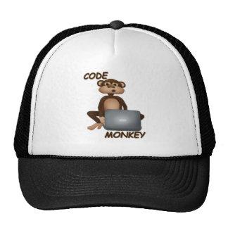 Codifique o macaco bonés
