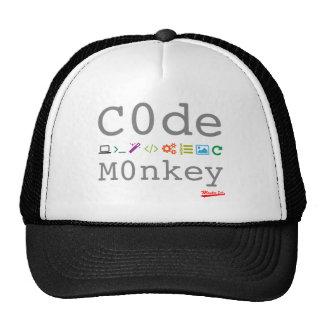 Codifique o macaco boné