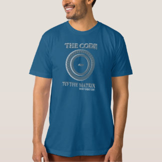 Código à matriz camiseta