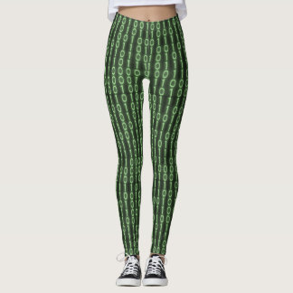 Código binário leggings