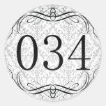 Código de área 034 adesivo