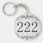 Código de área 222 chaveiro