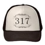 Código de área 317 bone