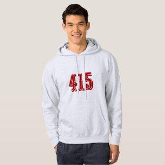 Código de área 415 moletom