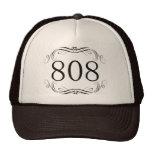 Código de área 808 bonés