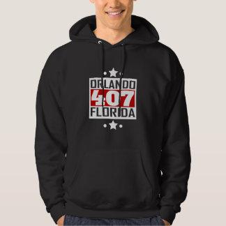 Código de área de 407 Orlando FL Moletom