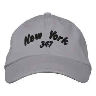 Código de área de New York 347 Boné Bordado