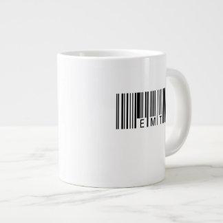 Código de barras de EMT Caneca De Café Gigante