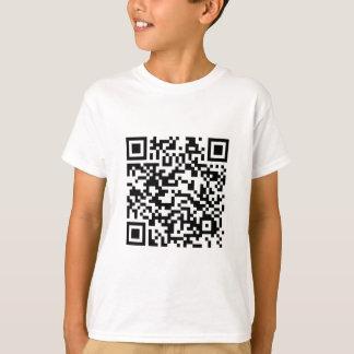 Código de barras de QR: Obrigados para fazer a Camiseta